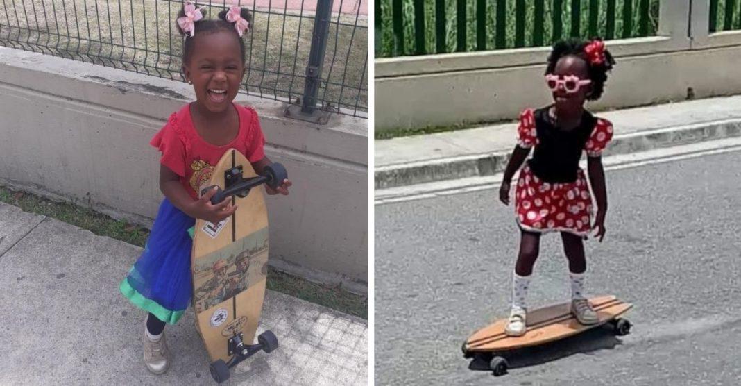 minnie skatista elisa de freitas menina 4 anos rj