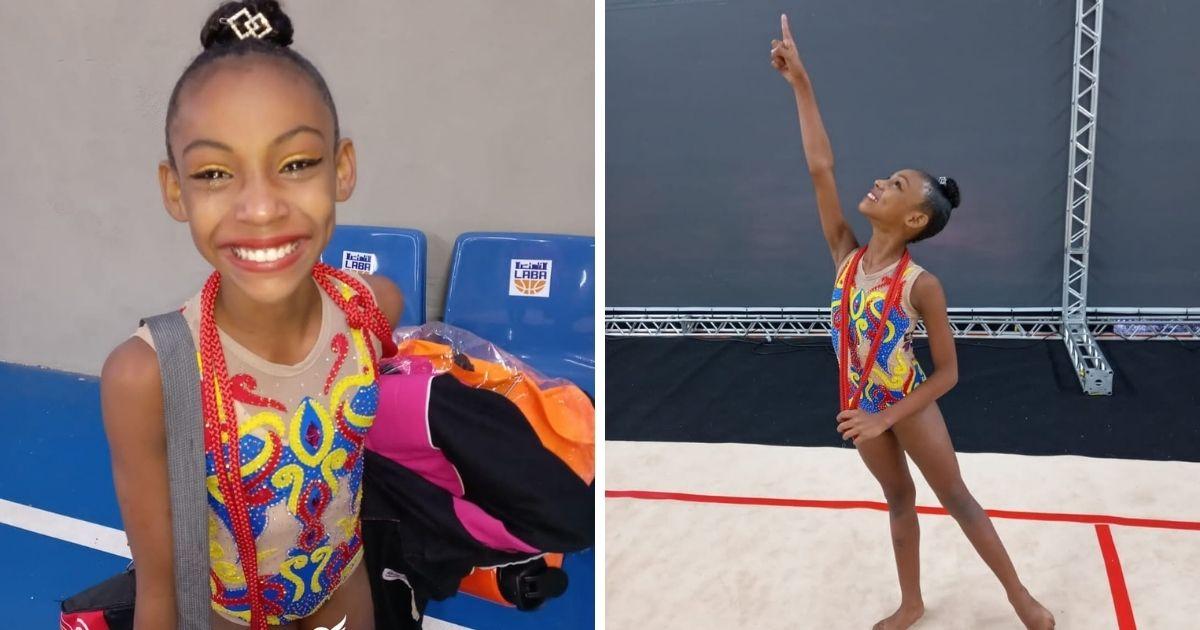 vaquinha voaa menina ana vitória finalista campeonato brasileiro de ginástica artística