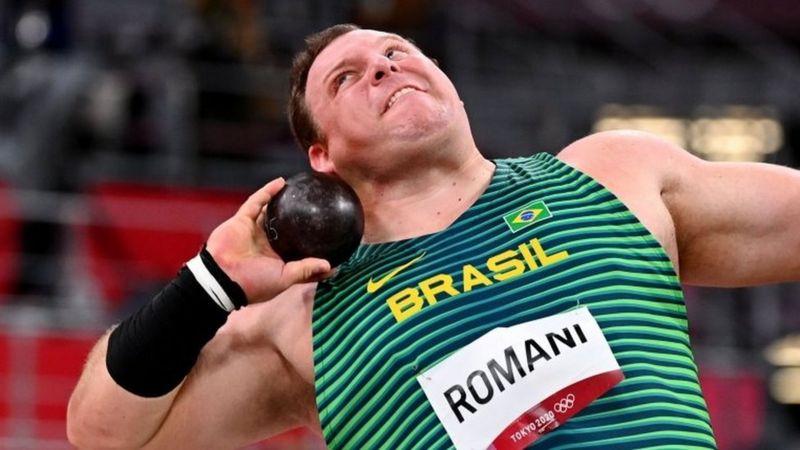 vaquinha voaa Darlan Romani atleta arremesso peso tóquio olimpíadas 2020