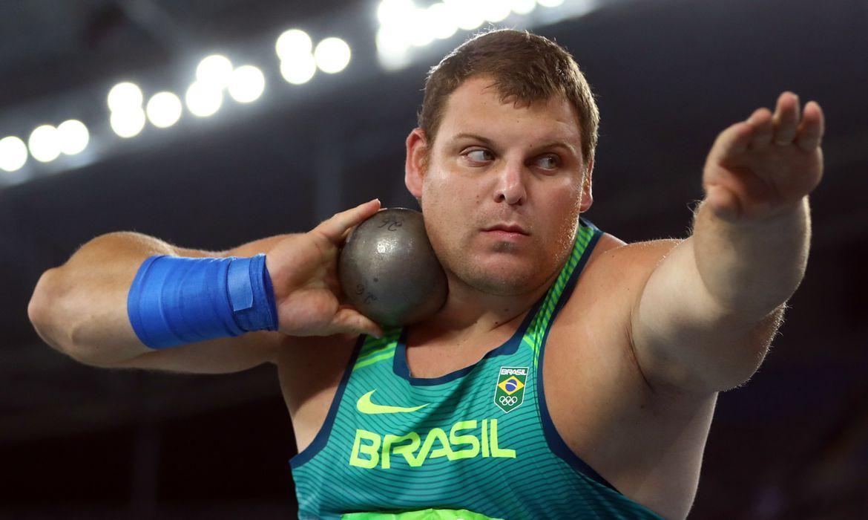 vaquinha voaa atleta darlan arremesso peso bate meta