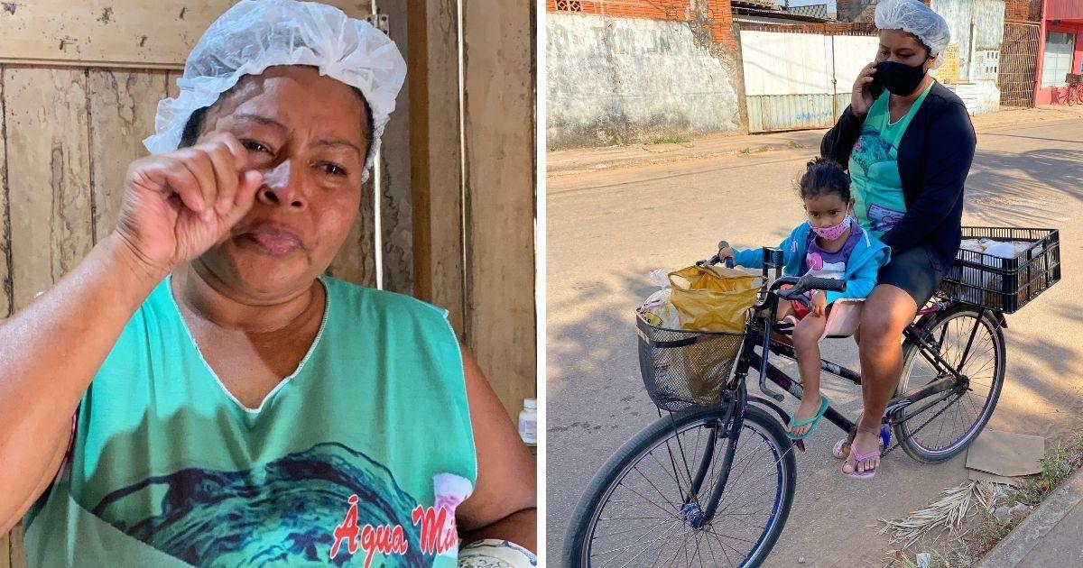 vaquinha voaa mãe solo largou prostituição vício sonho padaria sustento filhos