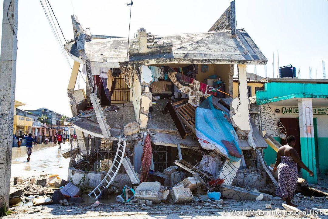 vaquinha voaa ajuda humanitária haiti