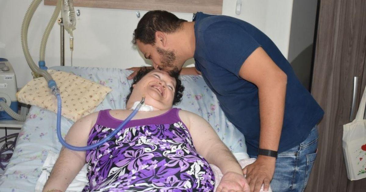 voaa vaquinha casa nova eliana mulher passou décadas internada hospital