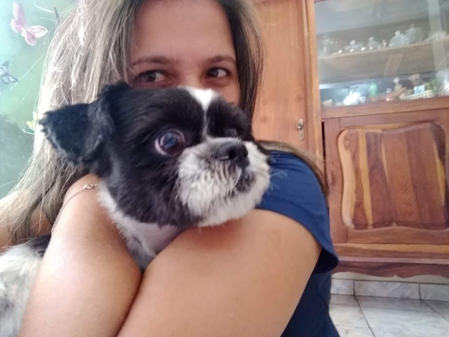 cachorro acolhido família uberlândia