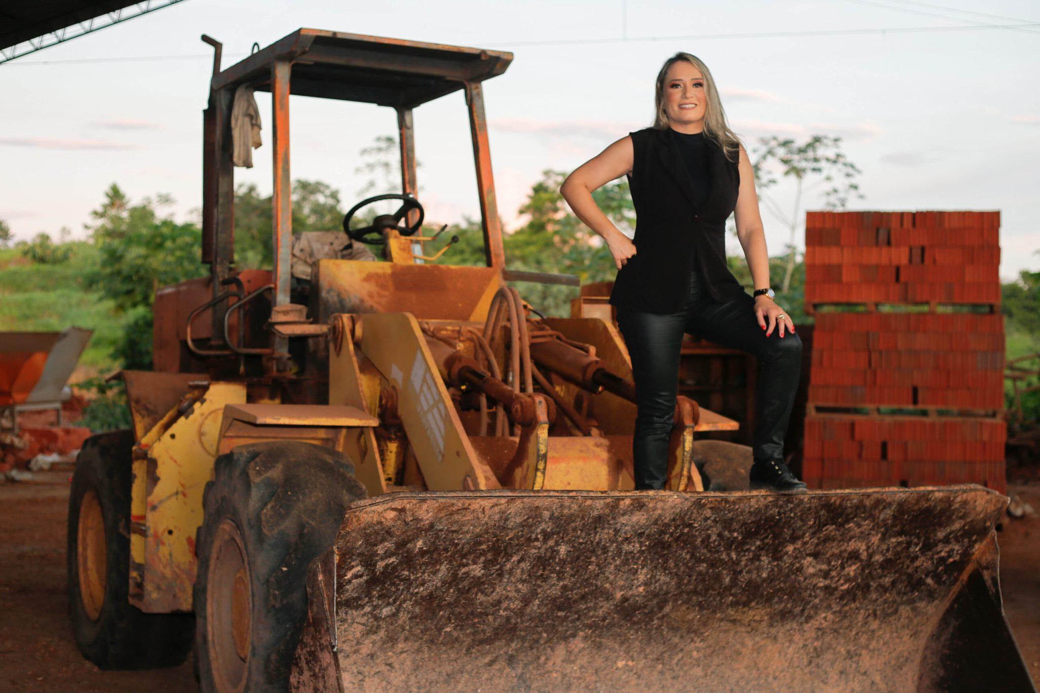mulher assume negócio tijolo tijolos pai moderniza empresa