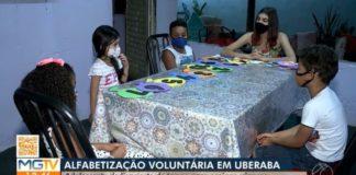 adolescente alfabetiza crianças carentes uberaba