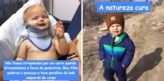 bebê atropelado faixa de pedestre recuperação vídeo