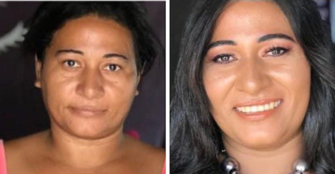 maquiadora dá dia de beleza mulheres de baixa renda