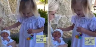 vídeo menina cega encontra irmão pela primeira vez