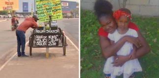 haitiano vende água semáforo trazer família que ficou para trás