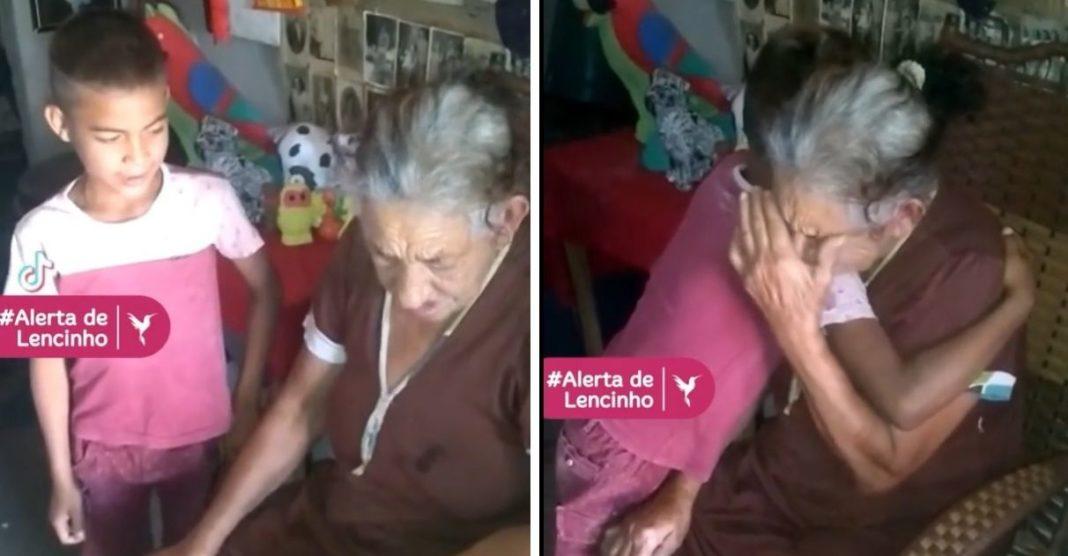 video neto canta avó faz ela chorar