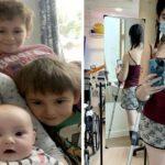 Mulher grávida opta por amputar a perna para salvar vida de seu bebê após diagnóstico de câncer