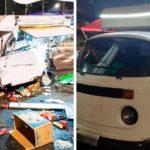 Clientes compram Kombi nova para família que teve seu food truck destruído após acidente em SP