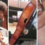 """Violino serve de """"escudo"""" e salva vida de jovem músico vítima de bala perdido no Rio"""