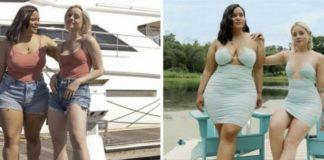 amigas com corpos diferentes usam a mesma roupa moda inclusiva