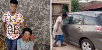 influenciador nigeriano carro novo mãe