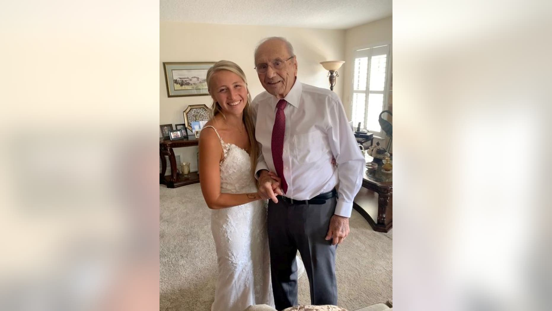 noiva viaja milhares km compartilhar dança casamento com o avô