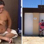 Após vaquinha do Razões, jovem com Síndrome de Down que morava na rua com a mãe ganha casa nova no RN