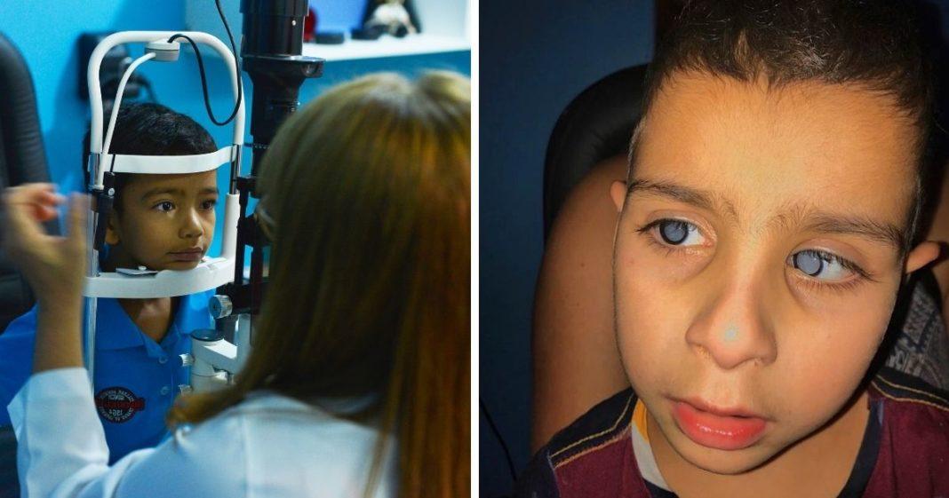 vaquinha voaa hospital caviver fila cirurgia crianças problemas visão