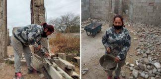 mãe constrói casa própria após ficar sem dinheiro pagar aluguel