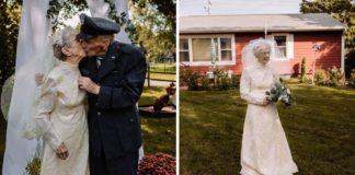casal ganha fotos casamento após 77 anos