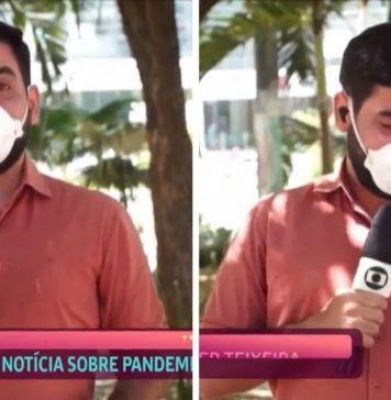 repórter chora ao vivo noticiar hospital livre mortes covid