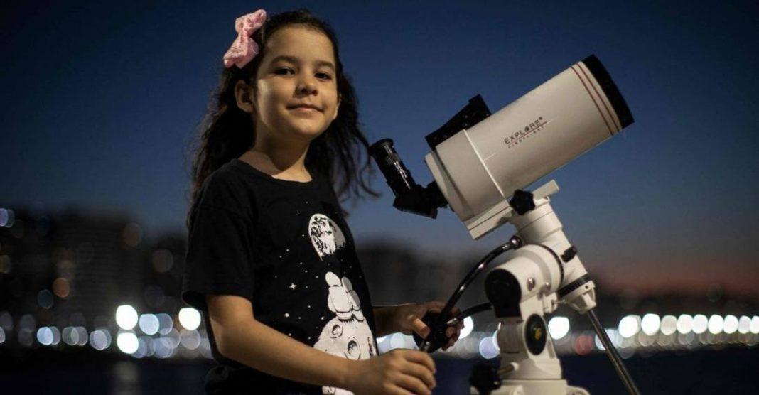 criança alagoana mapeia 23 asteroides